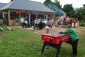 Pentecost 2014 at the CUBE youth centre - Table football