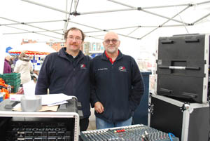 Harborough FM at Market Harborough's Good Friday 2015 event in the town square