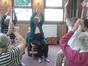 Holiday at Home Summer 2015 - Exercise workshop