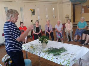 Holiday at Home Summer 2015 - Flower arranging workshop