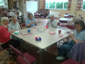 Holiday at Home Summer 2015 - Knitting workshop