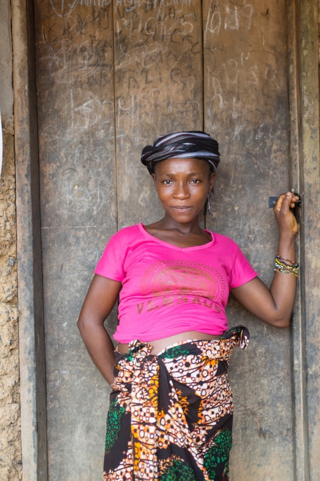 Pregnant woman from Sierra Leone, © Tom Pilston